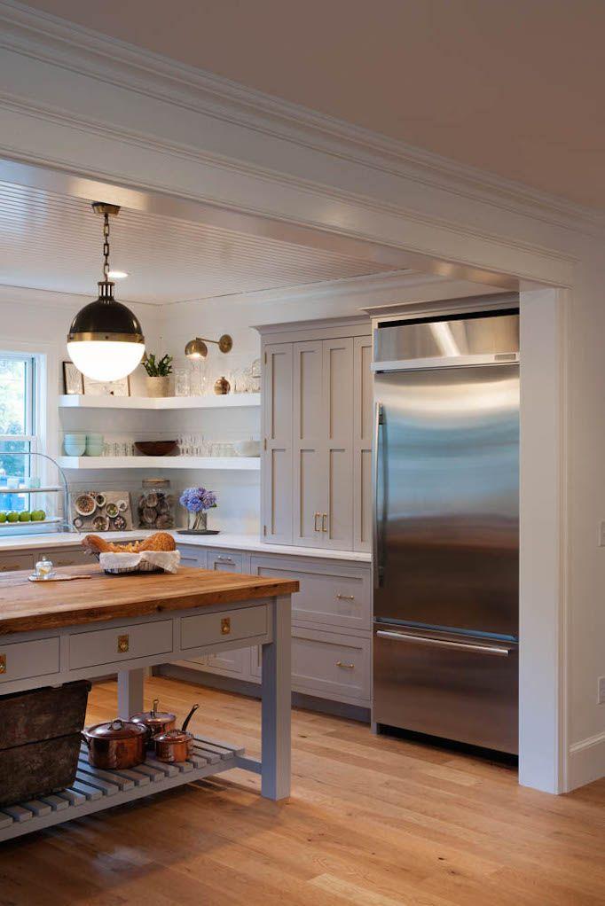A Painted Gray Kitchen | BECKI OWENS | Bloglovin'