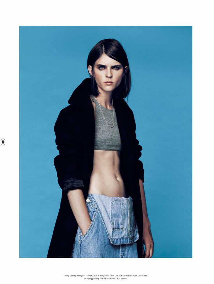 Kel Markey Poses for Bruno Staub in Wonderland Magazine