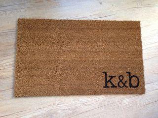 Custom Doormat by Posh Purveyor - contemporary - doormats - by Etsy