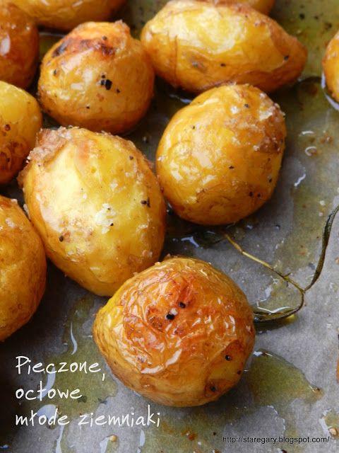 Stare Gary: Pieczone, octowe młode ziemniaki