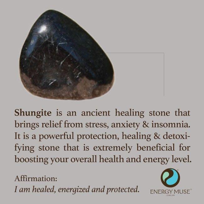 Shungite Stone, Discover Shungite Properties and Shungite Healing from Energy Muse
