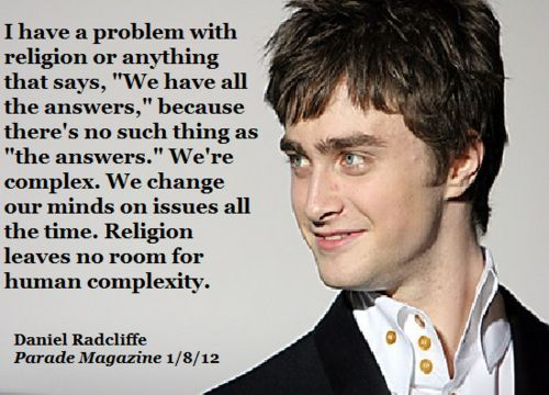 Image result for daniel radcliffe height quote