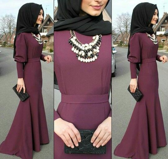 25+ Best Ideas About Hijab Dress Party On Pinterest | Muslim Dress Hijab Dress And Hijabs