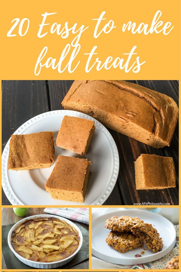20 Easy to make healthy apple, and pumpkin treats to warm you up for fall