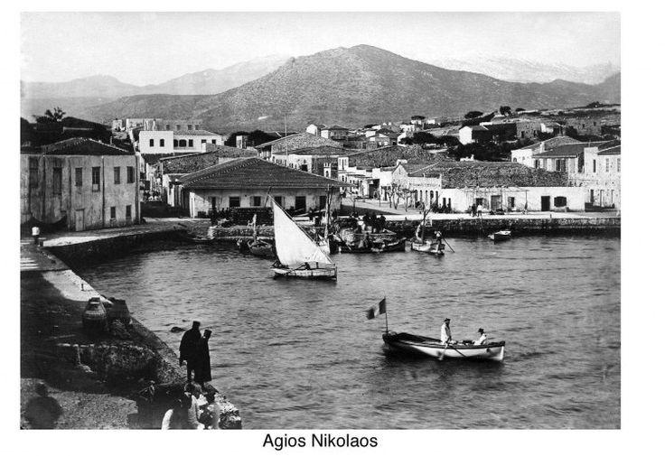 Άγιος Νικόλαος. 1900 περίπου. Φωτογραφικό Αρχείο του συνταγματάρχη Émile Honoré Destelle. Δημοσίευση Ελένης Σημαντήρη.