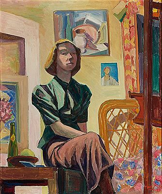 Tove Jansson, 'Self Portrait', 1936