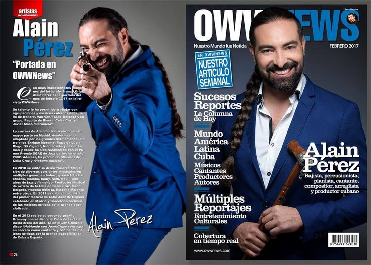 Alain Pérez este mes en Shock Magazine http://www.larevistashock.com