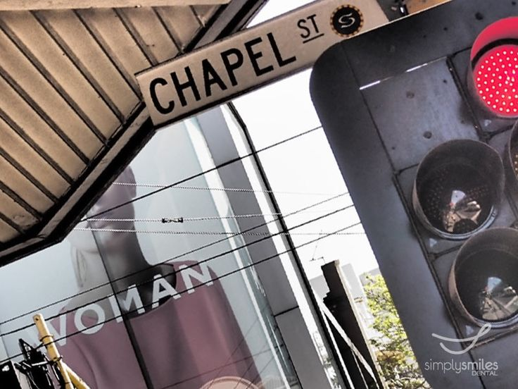 The captured piece of Chapel Street, South Yarra, Melbourne VIC