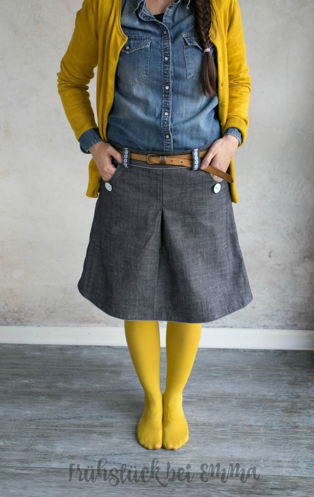 121 best Nähen - Röcke images on Pinterest | Sewing projects, Sewing ...