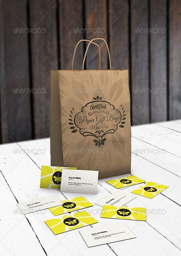 Download Paper Gift Bag Mock Up Eco Gift Bag Mockup Paper Gift Bags Paper Gifts Eco Gifts