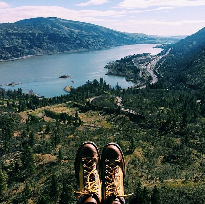 An epic view of the Columbia River