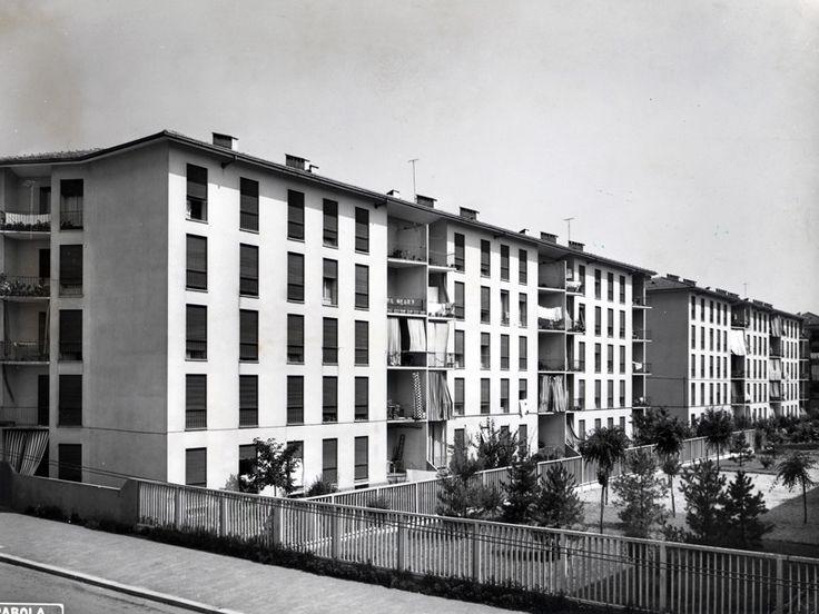 Quartiere Iacp Mangiagalli II - Franco Albini e Milano - itineraries - Ordine degli architetti, P.P.C della provincia di Milano