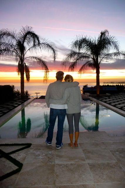 Love like this! Yolanda & David Foster from bigblondehair.com