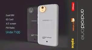 Spice mobile to go on launching Android One Smartphone before this Diwali