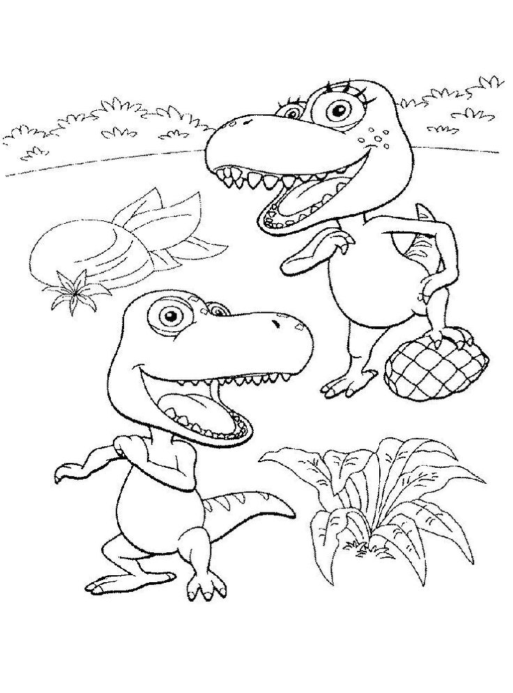 16++ Dinosaur train coloring pictures information
