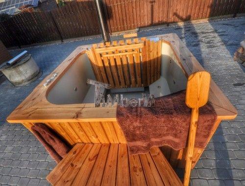 Bain scandinave polypropyl ne carr luxe 3 bains nordiques finlandais s - Bain scandinave prix ...