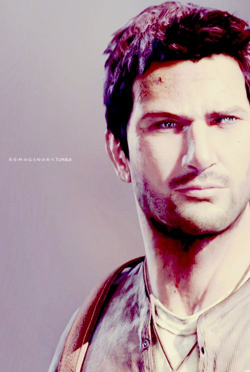 Nathan Drake, Uncharted (^。^) God why is he so hot?