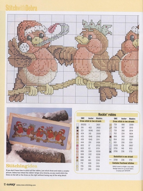 Gallery.ru / Фото #6 - Cross Stitch Crazy 053 рождество 2003 - tymannost