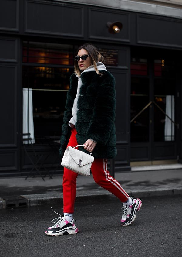 ▷ The trend of the chunky ugly sneakers of the women you wait for …   – FW 2017 chic