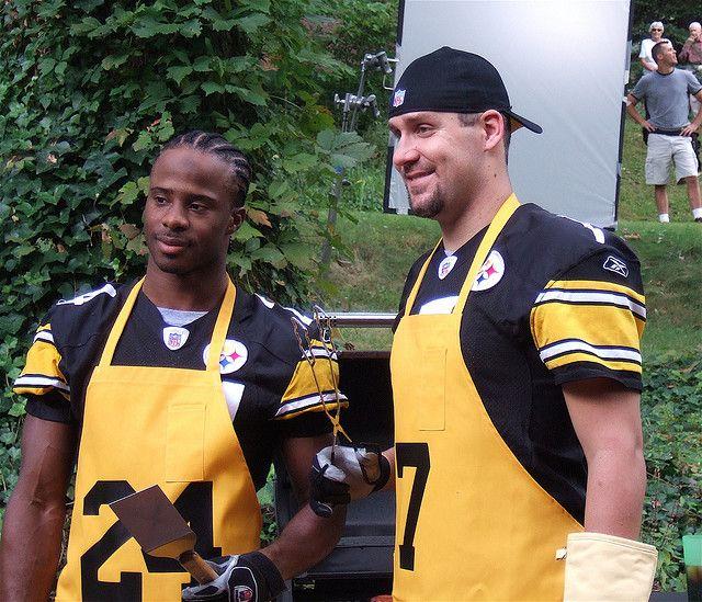 Ike Taylor and Ben Roethlisberger
