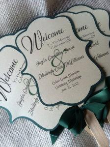 Paper Fans - Wedding Trends - Etsy