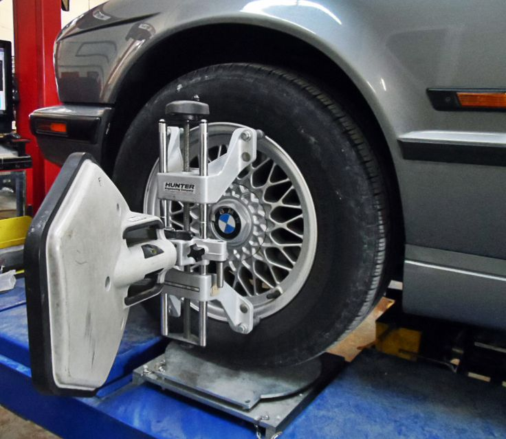 front wheel alignment check