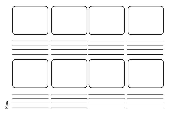 instructional design storyboard template