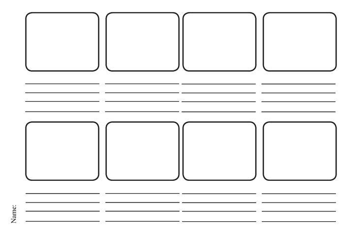 instructional design storyboard template