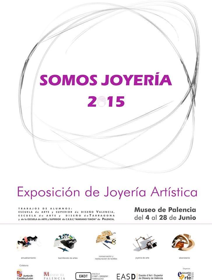 """exposición """"SOMOS JOYERÍA 2015"""" en el Museo Arqueológico de Palencia."""