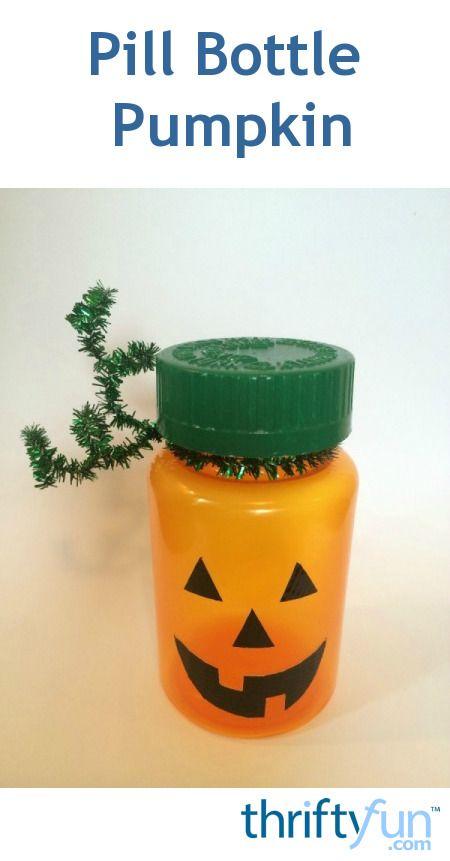 17 best images about pumpkins on pinterest pumpkin for Halloween medicine bottles