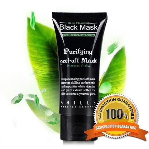 ! Black Mask - Pore Cleansing Mask by Shills - Free Shipping