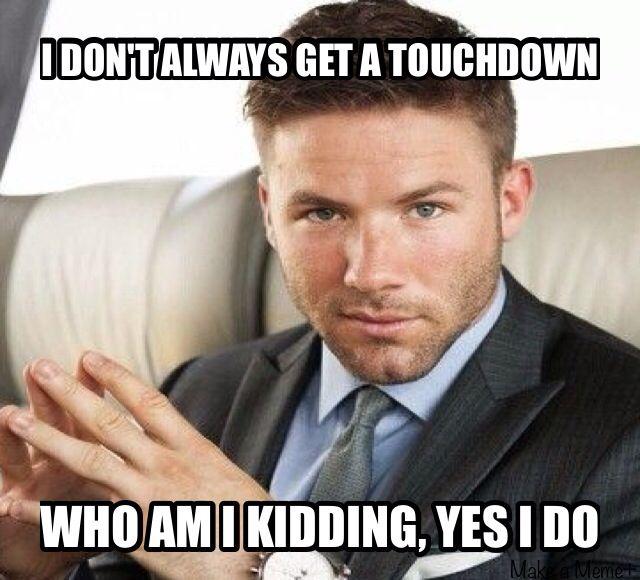 Julian Edelman- gets the touchdowns, looks great doing it!