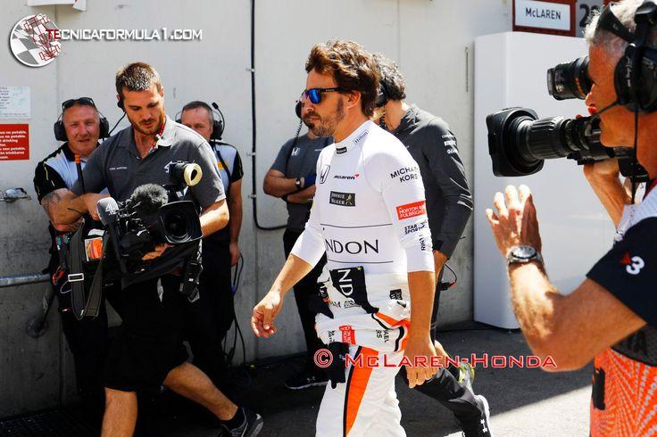 """Alonso: """"Honda se está jugando su imagen y su dinero""""  #F1 #Formula1 #SpanishGP"""