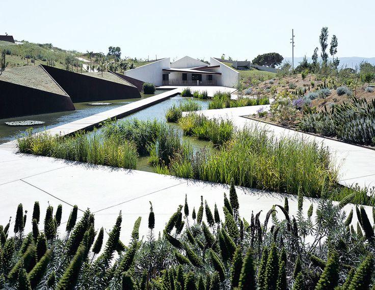 colaboración con carlos ferrater / nuevo jardín botánico, barcelona