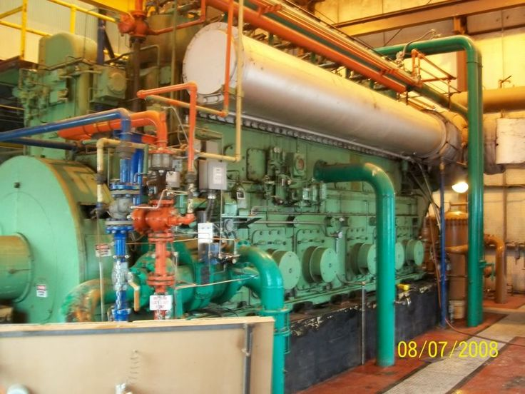 Clark TLA-8 Gas Compressor set.