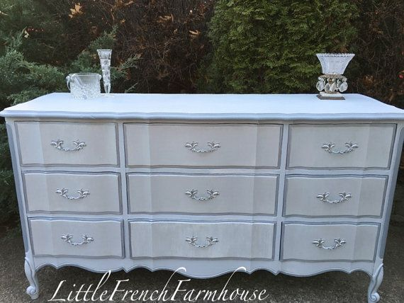 French Provincial Dresser / Server - Gold Dipped or Custom Painted to Order - Dixie - American Made Quality