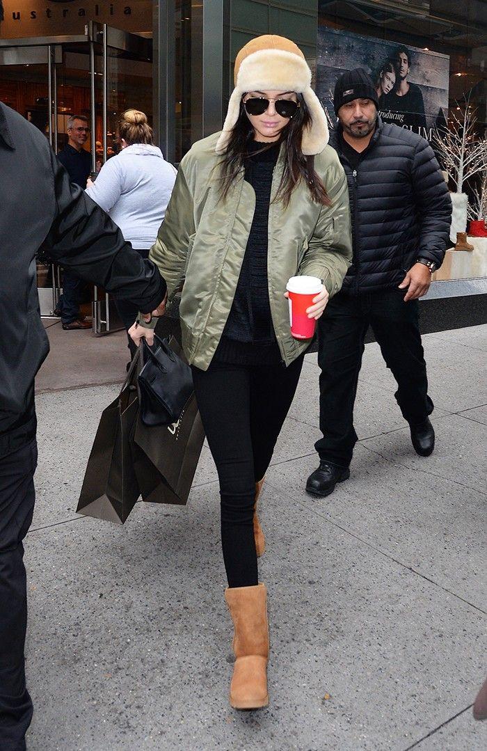 Kendall Jenner's Favorite Color Is Incredibly Flattering via @WhoWhatWear