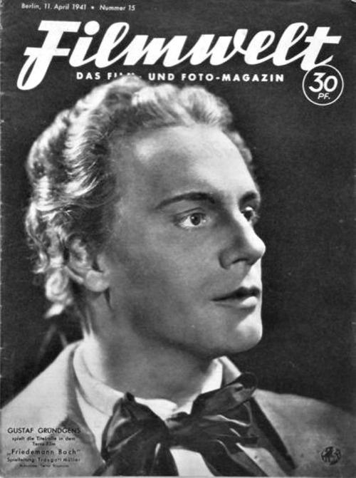 Gustaf Gründgens - Filmwelt - 11 April 1941