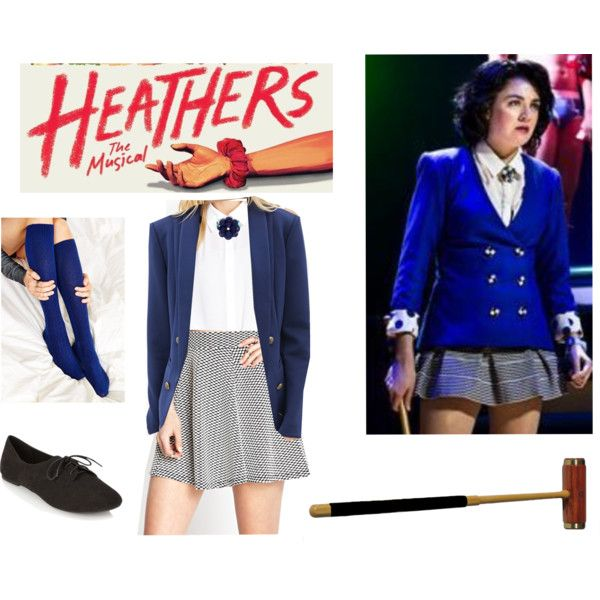 """Veronica Sawyer """"Heathers the Musical"""" by broadwaybabe97 on Polyvore featuring Love 21, Forever 21, SOXIETY and Rockwood"""