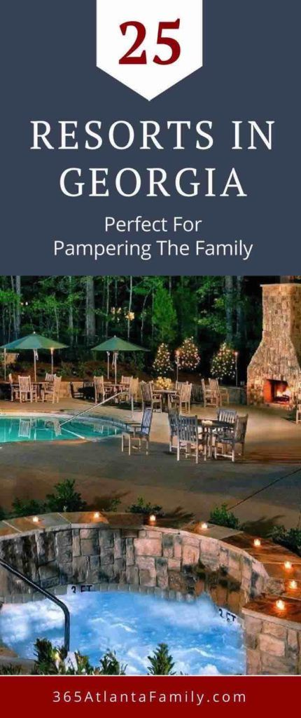 Are you looking for a dreamy escape with your family? Something luxurious, for both the adults and the kids? This compilation of resorts in Georgia will introduce you to mountain, beach and city stays that will have you making memories together to last a lifetime. Here are 25 of our favorite resorts - where do you love to stay, and what's on your bucket list?