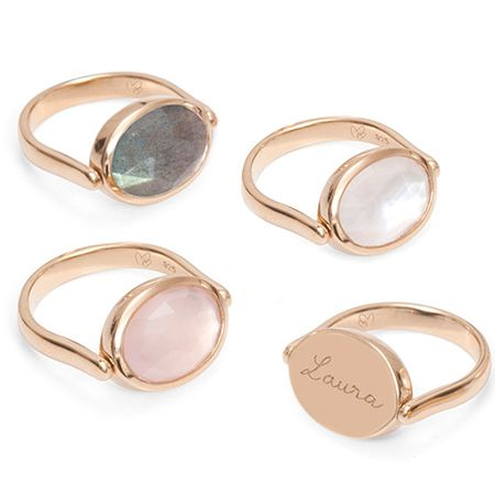 Personalised Gem Spinning Ring | sheerluxe.com