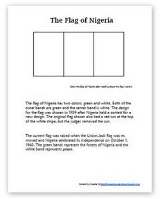 Learning About Nigeria {Week 1}. Locate Nigeria in Africa.