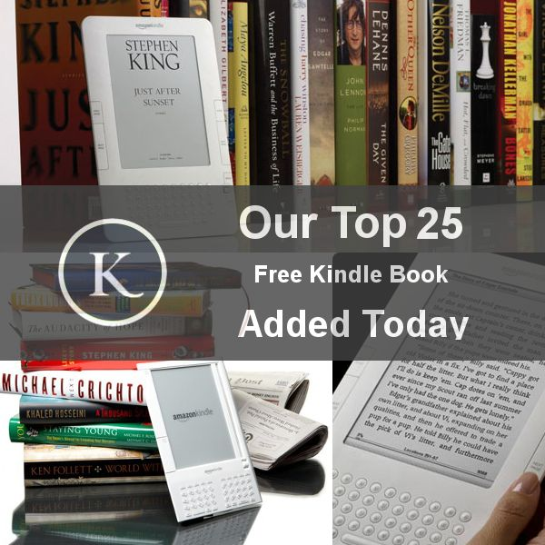Our Top 25 Free Kinde Book Added Today. List -> http://kickstartsaving.tumblr.com/post/64235230046/top-25-free-kindle-book-downloads