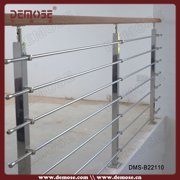 Modern balcony stainless steel window grill design view for Balcony steel grill design