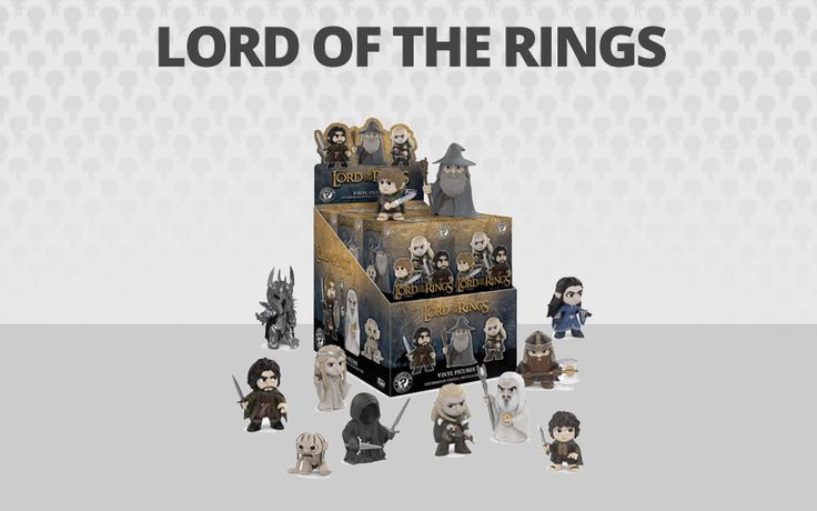 Lord Of The Rings Funko Mystery Minis