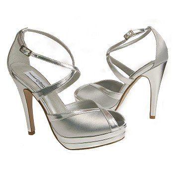 Women's Dyeables Vegas Silver FamousFootwear.com 4in heels