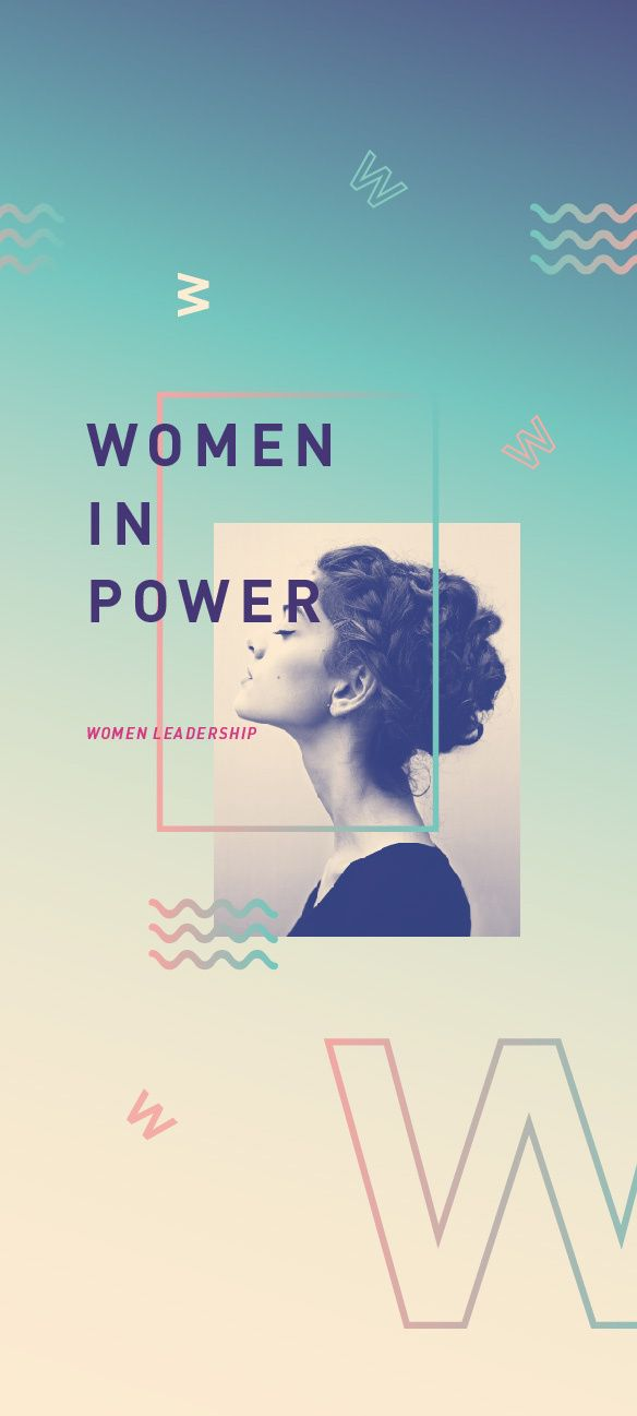Women In Power / Thesis Proposal in Typography