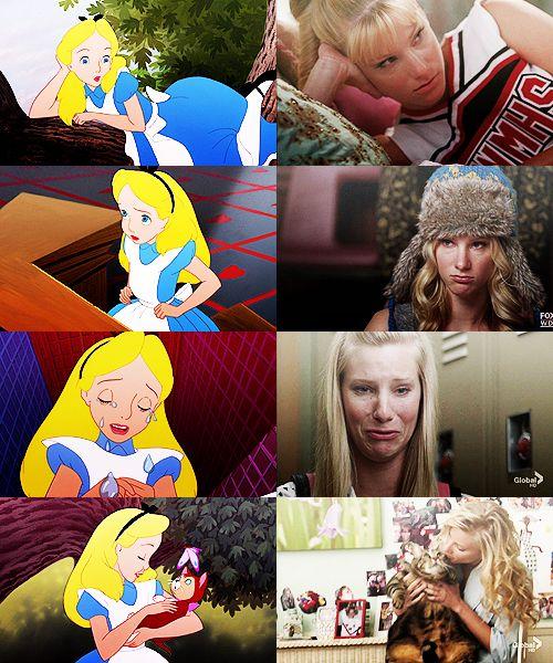 Think your favorite Glee star looks like a Disney princess? Sleeping Beauty and Britney S Pierce.