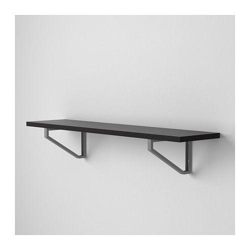 EKBY J RPEN Shelf Black Brown 31 1 8x7 1 2 IKEA