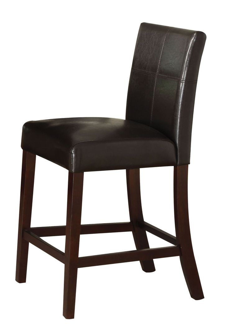 ACME 70357 Set Of 2 Idris Counter Height Chair